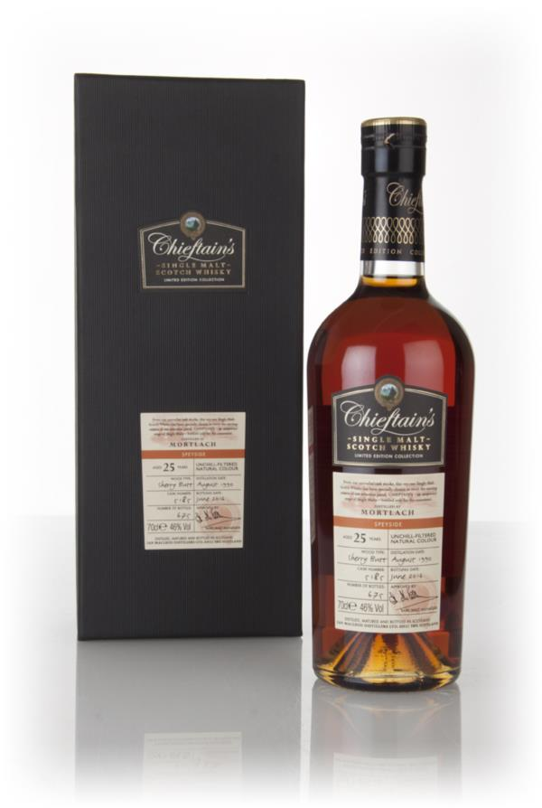 Mortlach 25 Year Old 1990 (cask 5185) - Chieftain's (Ian Macleod) 3cl Single Malt Whisky