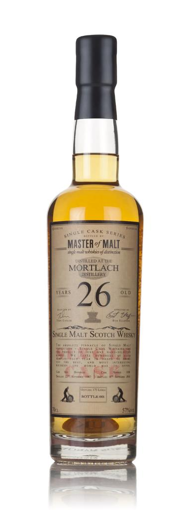 Mortlach 26 Year Old 1987 - Single Cask (Master of Malt) 3cl Sample Single Malt Whisky