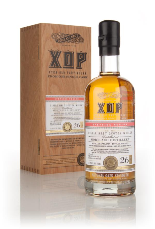 Mortlach 26 Year Old 1989 (cask 10774) - Xtra Old Particular (Douglas Single Malt Whisky 3cl Sample
