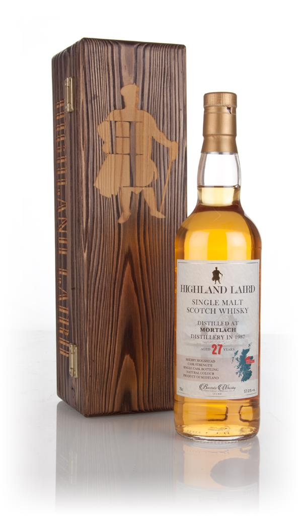 Mortlach 27 Year Old 1987 - Highland Laird (Bartels Whisky) 3cl Sample Single Malt Whisky