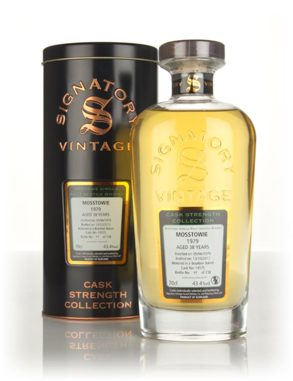 Mosstowie 38 Year Old 1979 (cask 14575) - Cask Strength Collection (Si Single Malt Whisky