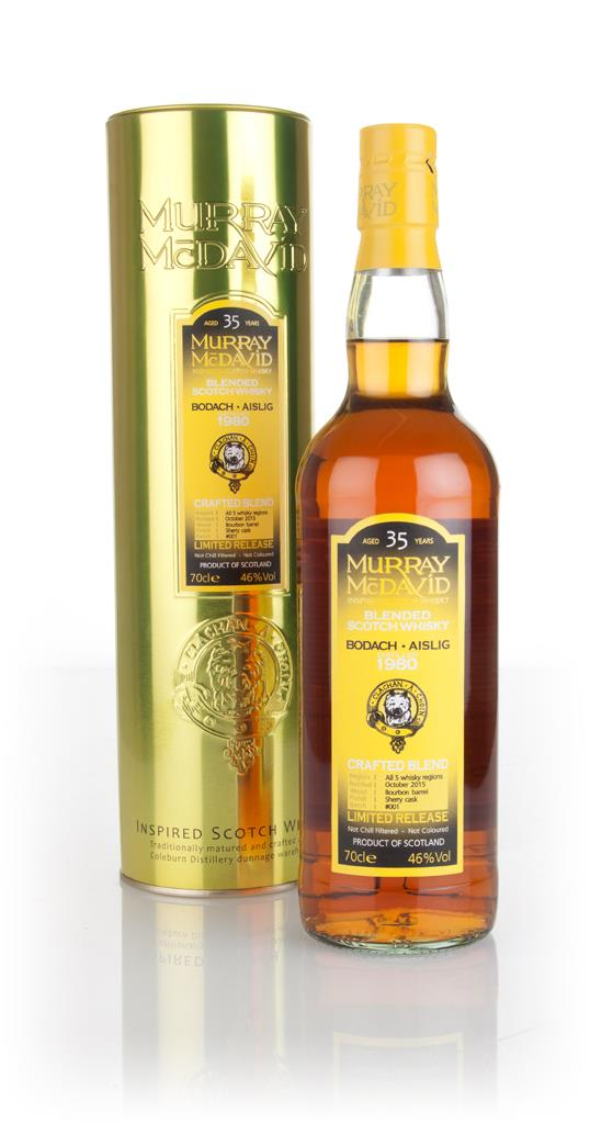Bodach Aislig 35 Year Old 1980 - Crafted Blend (Murray McDavid) 3cl Sa Blended Whisky 3cl Sample