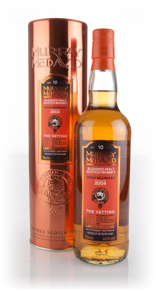 Righ Seumas I 10 Year Old 2004 - The Vatting (Murray McDavid) Blended Whisky