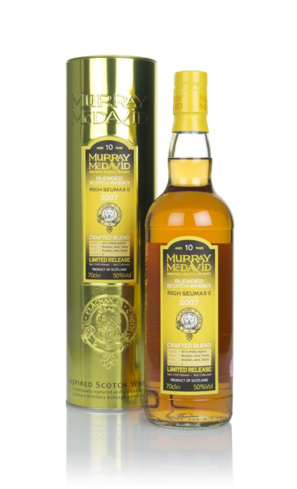 Righ Seumas II 10 Year Old 2007 - Crafted Blend (Murray McDavid) Blended Whisky