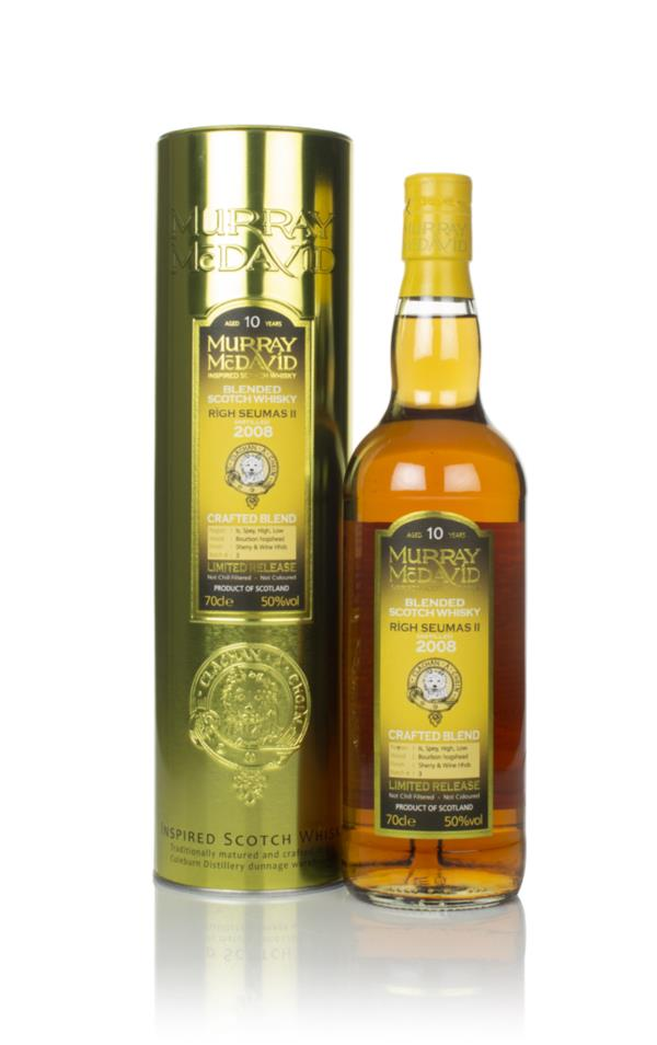 Righ Seumas II 10 Year Old 2008 - Crafted Blend (Murray McDavid) (2019 Blended Whisky