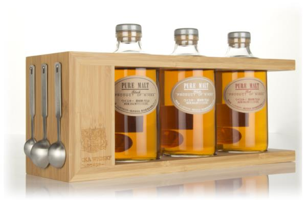 Nikka Pure Malt Spice Rack Set Blended Malt Whisky