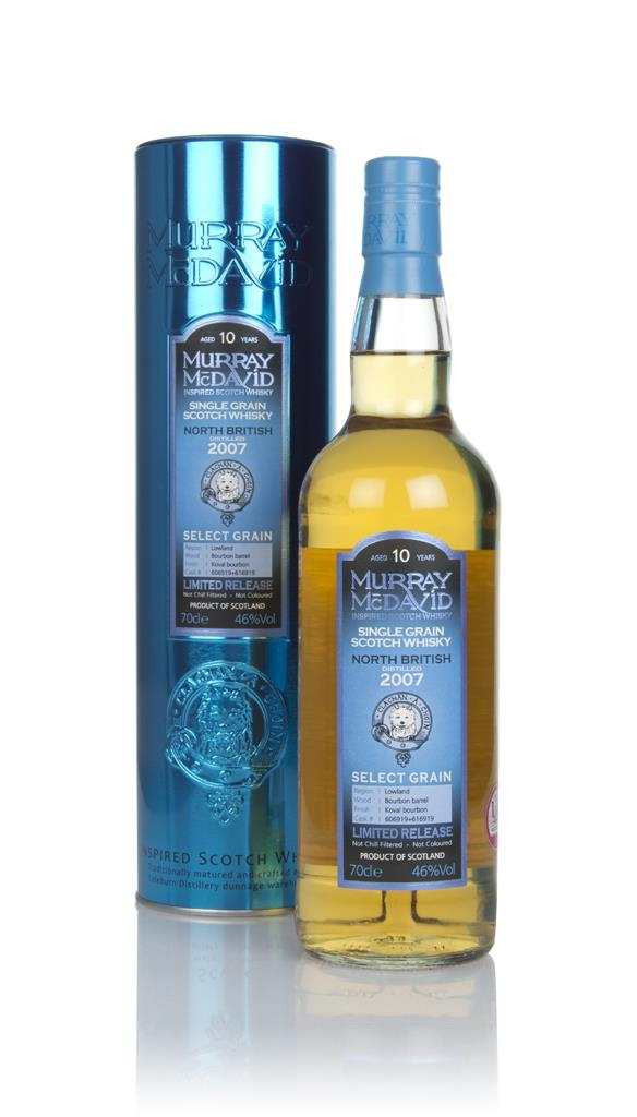 North British 10 Year Old 2007 (casks 606919 & 616919) - Select Grain Whisky