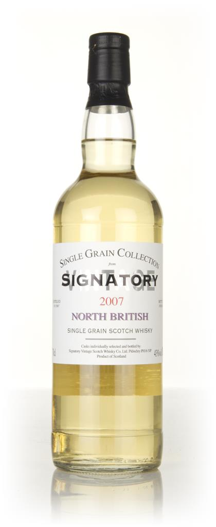 North British 10 Year Old 2007 - Single Grain Collection (Signatory) Grain Whisky