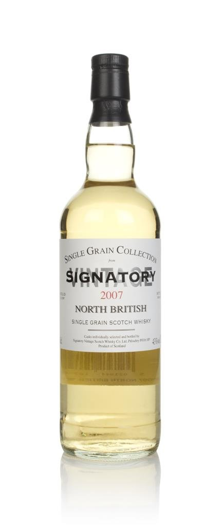 North British 12 Year Old 2007 - Single Grain Collection (Signatory) Grain Whisky