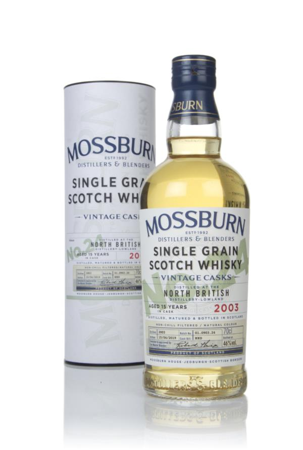 North British 15 Year Old 2003 - Vintage Casks (Mossburn) Grain Whisky