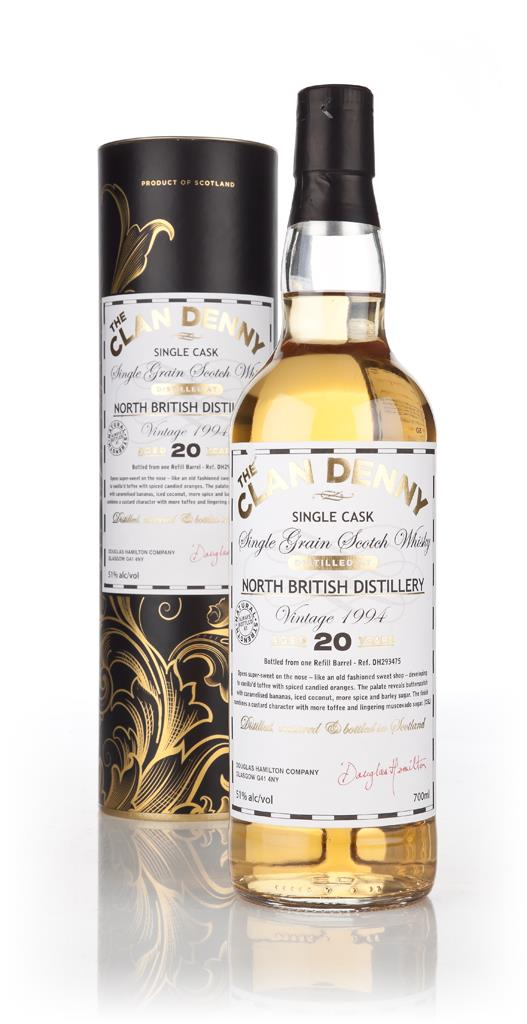 North British 20 Year Old 1994 (cask 293475) - The Clan Denny (Douglas Grain Whisky
