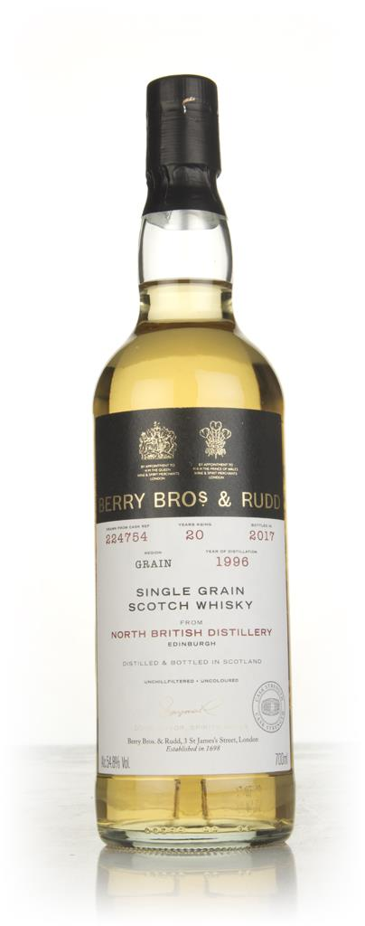 North British 20 Year Old 1996 (cask 224754) - Berry Bros. & Rudd Grain Whisky