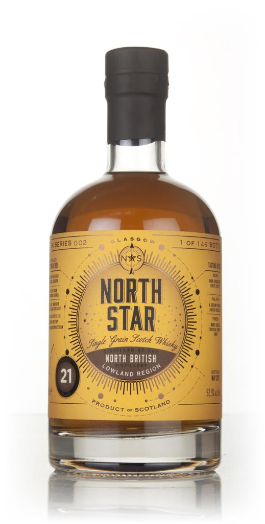 North British 21 Year Old 1995 - North Star Spirits Grain Whisky