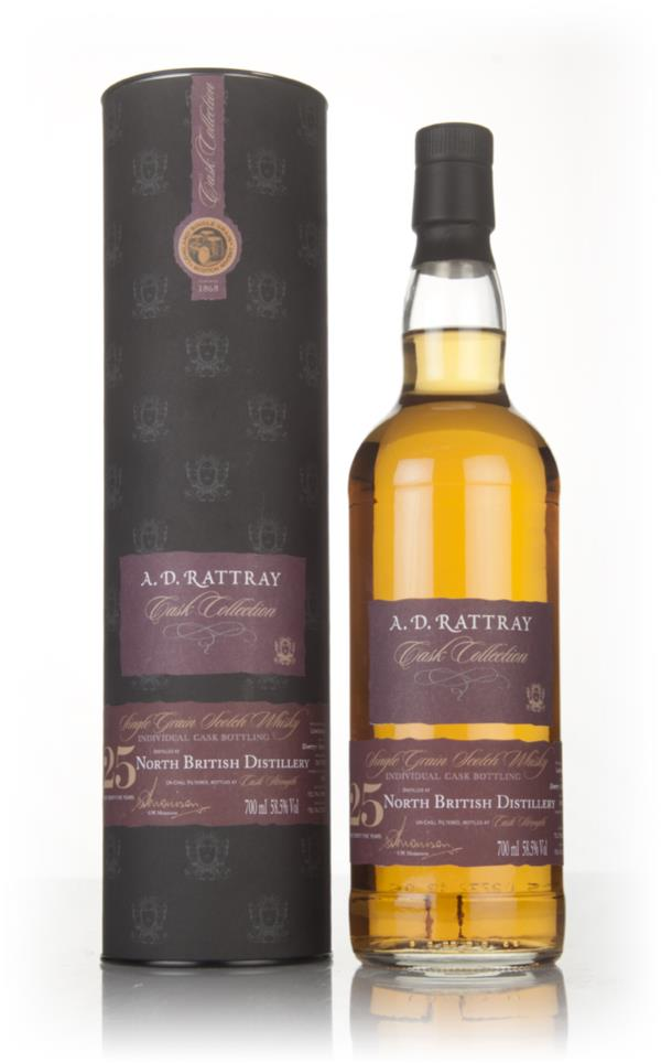 North British 25 Year Old 1991 (cask 262058) - Cask Collection (A.D. R Grain Whisky