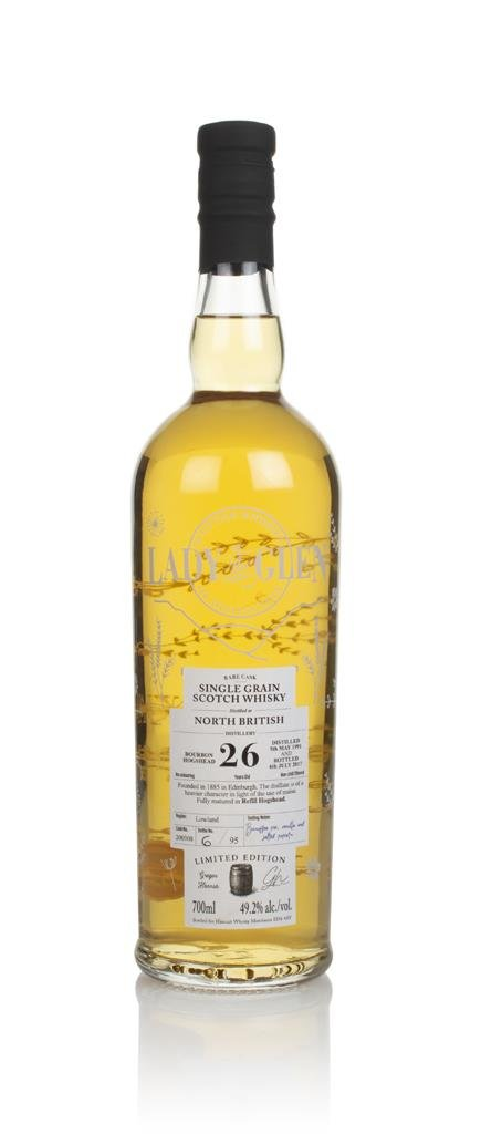 North British 26 Year Old 1991 (cask 200308) - Lady of the Glen (Hanna Grain Whisky