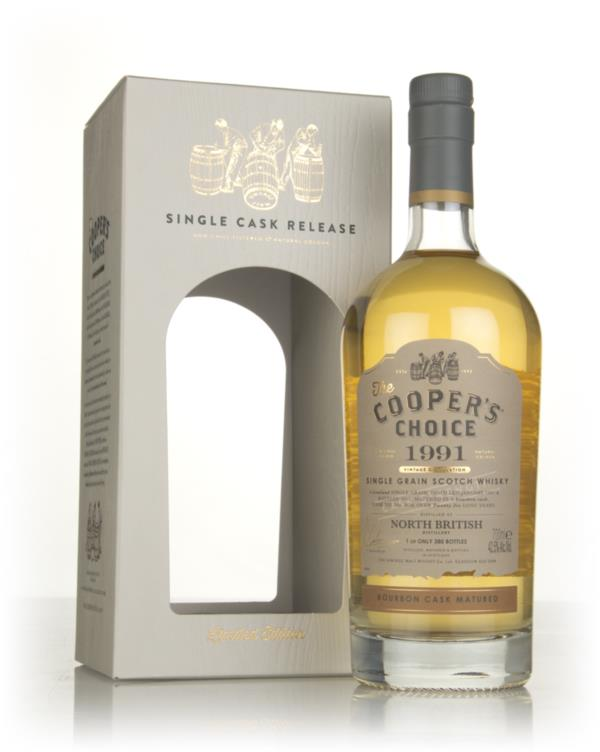 North British 26 Year Old 1991 (cask 304) - The Coopers Choice (The V Grain Whisky