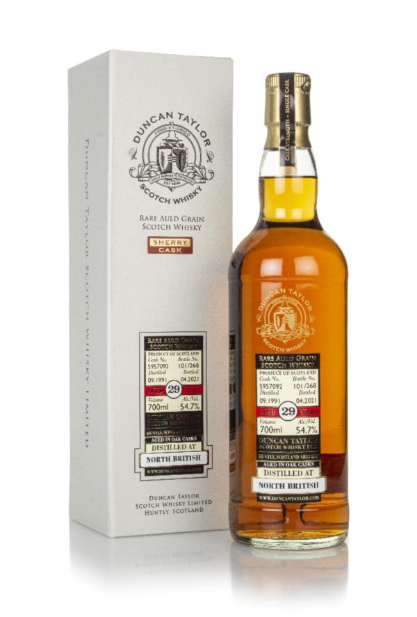 North British 29 Year Old 1991 (cask 5957092) - Rare Auld (Duncan Tayl Grain Whisky