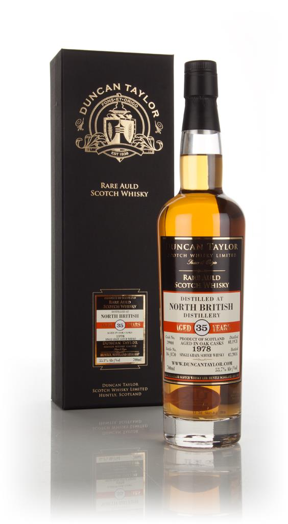 North British 35 Year Old 1978 (cask 39900) - Rare Auld (Duncan Taylor Grain Whisky 3cl Sample