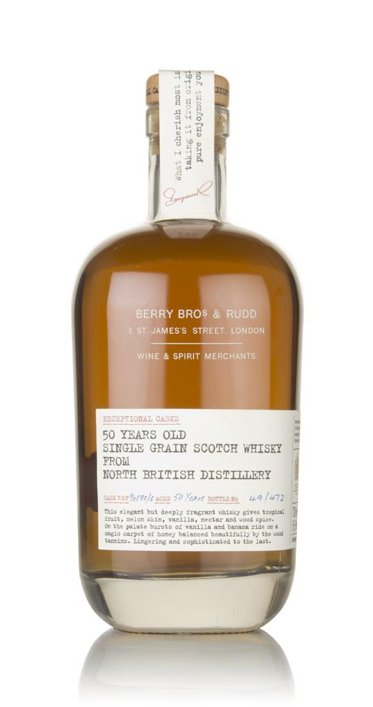 North British 50 Year Old (casks 90592 and 90593) - Exceptional Casks Grain Whisky