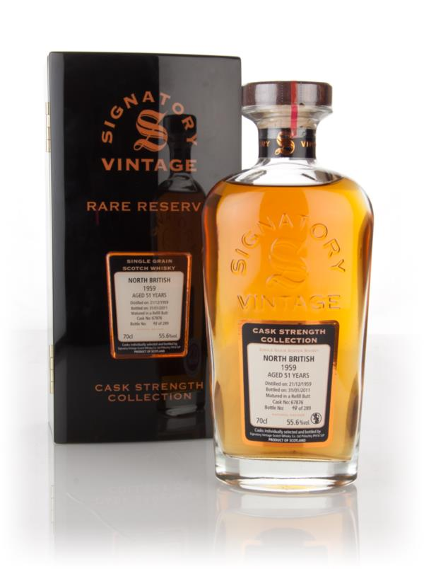 North British 51 Year Old 1959 (cask 67876) - Cask Strength Collection Grain Whisky 3cl Sample