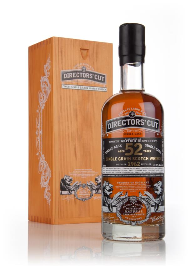 North British 52 Year Old 1962 (cask 10356) - Directors Cut (Douglas Grain Whisky 3cl Sample