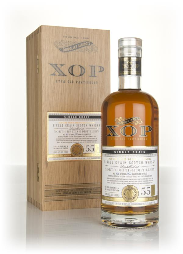 North British 55 Year Old 1962 (cask 12398) - Xtra Old Particular (Dou Grain Whisky