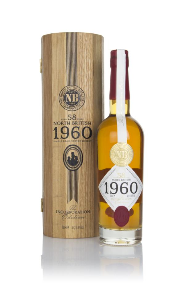 North British 58 Year Old 1960 - Incorporation Edition Grain Whisky