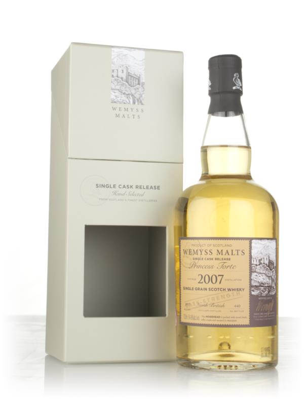 Princess Torte 2007 (bottled 2017) - Wemyss Malts (North British) Grain Whisky