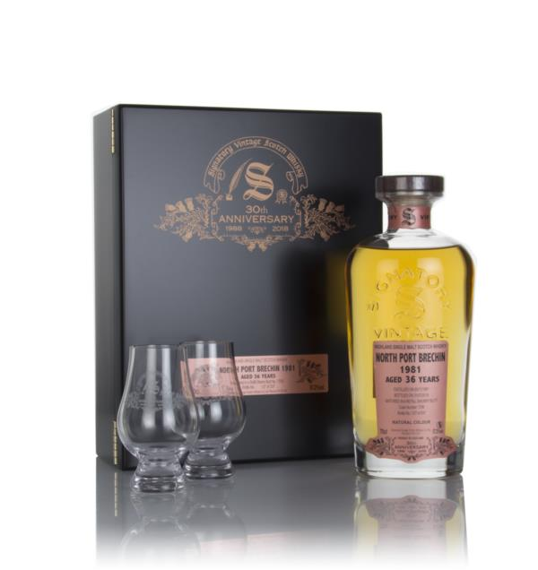 North Port Brechin 36 Year Old 1981 (cask 1708) - 30th Anniversary Gif Single Malt Whisky