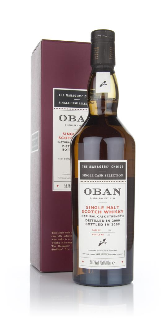 Oban 2000 - Managers Choice Single Malt Whisky