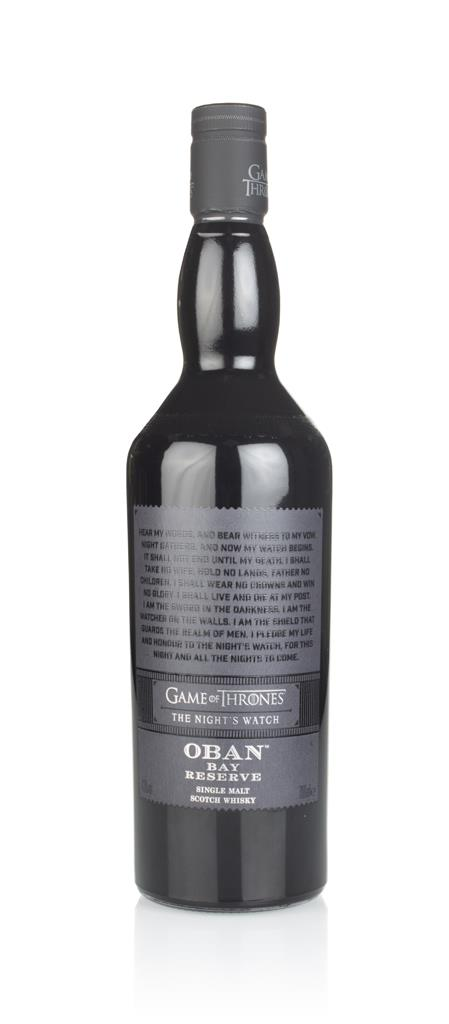 Nights Watch & Oban Bay Reserve - Game of Thrones Single Malts Collec Single Malt Whisky