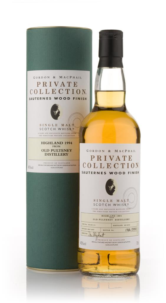Old Pulteney 1994 Sauternes Wood Finish - Private Collection (Gordon a Single Malt Whisky