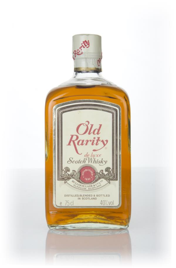 Old Rarity De Luxe (Rare) - 1960s Blended Whisky