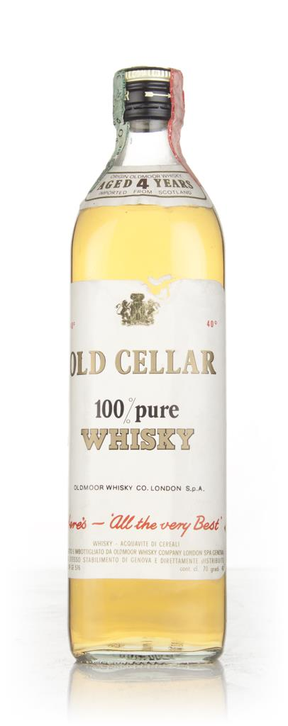 Old Cellar 4 Year Old - 1970s Blended Whisky