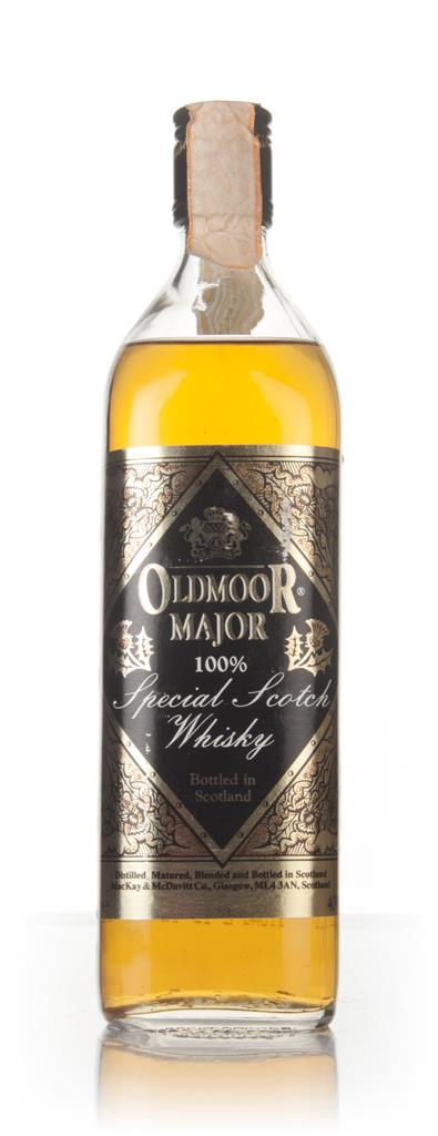Oldmoor Major Special Scotch Whisky - 1980s Blended Whisky