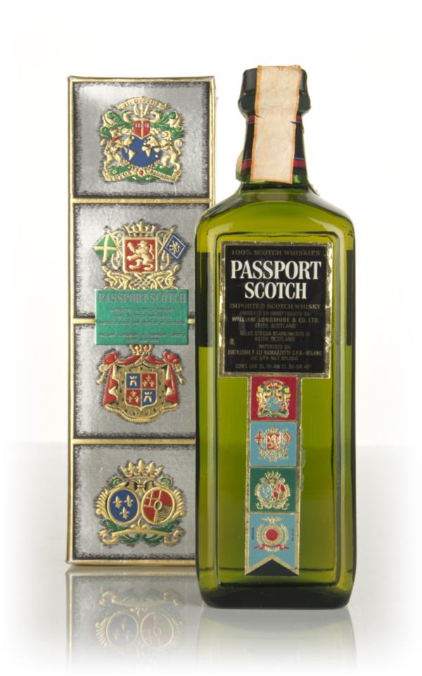 Passport (Boxed) - 1970s Blended Whisky