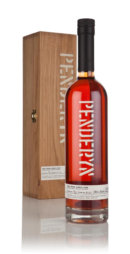 Penderyn Portwood Cask Finish (cask PT72) 3cl Sample Single Malt Whisky