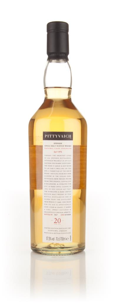 Pittyvaich 20 Year Old 1989 (2009 Special Release) Single Malt Whisky