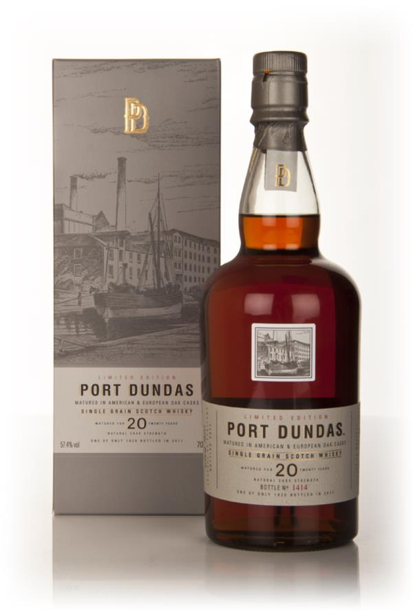 Port Dundas 20 Year Old 1990 (2011 Special Release) 3cl Sample Grain Whisky