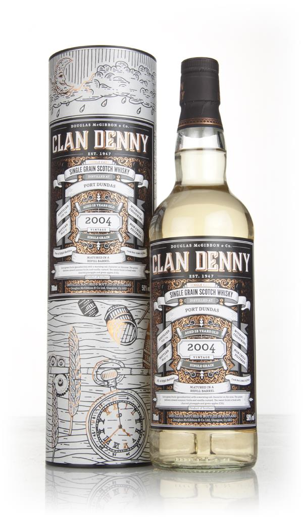 Port Dundas 12 Year Old 2004 (cask 11762) - Clan Denny (Douglas Laing) Grain Whisky