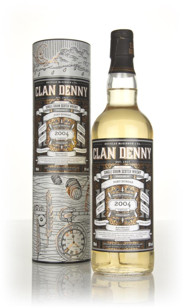 Port Dundas 13 Year Old 2004 (cask 12062) - Clan Denny (Douglas Laing) Grain Whisky