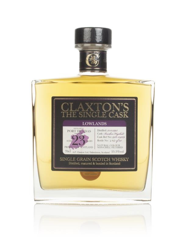 Port Dundas 23 Year Old 1995 - Claxtons Grain Whisky