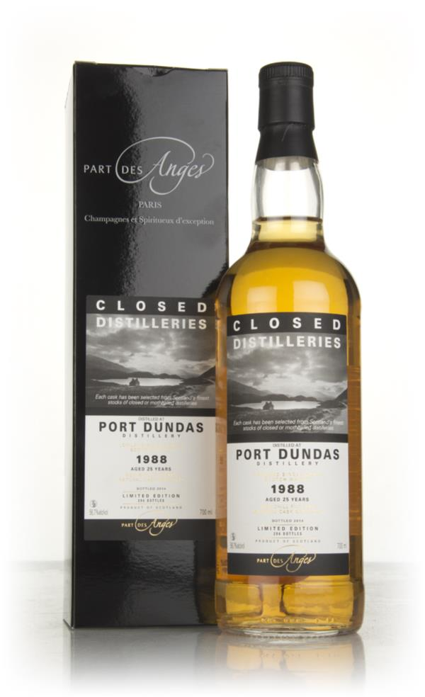 Port Dundas 25 Year Old 1988 (bottled 2014) - Closed Distilleries (Par Grain Whisky