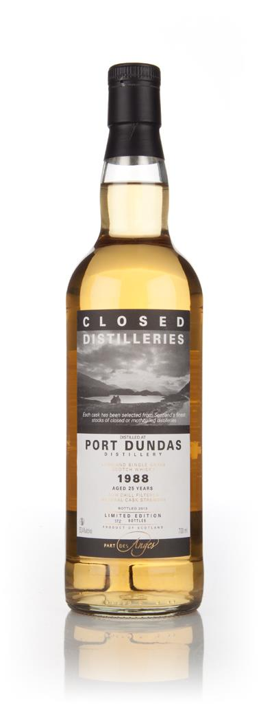 Port Dundas 25 Year Old 1988 - Closed Distilleries (Part Des Anges) Grain Whisky