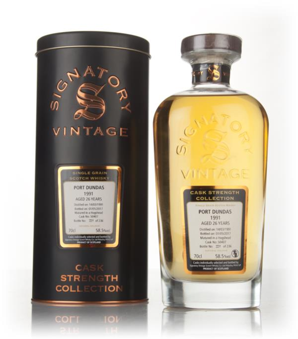 Port Dundas 26 Year Old 1991 (cask 50407) - Cask Strength Collection ( Grain Whisky