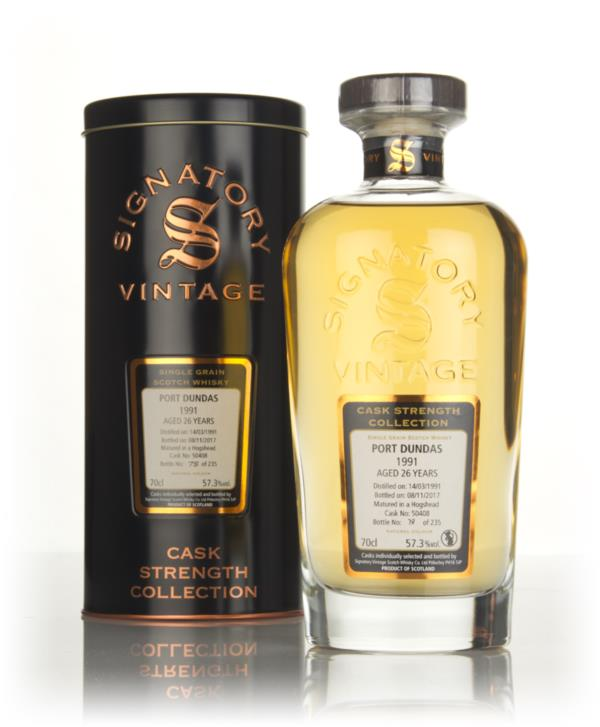 Port Dundas 26 Year Old 1991 (cask 50408) - Cask Strength Collection ( Grain Whisky