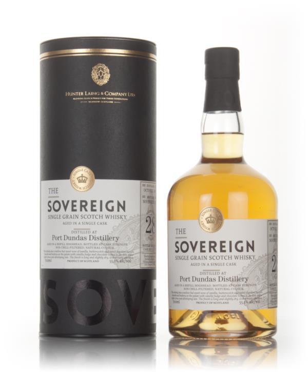 Port Dundas 28 Year Old 1988 (cask 13046) - The Sovereign (Hunter Lain Grain Whisky