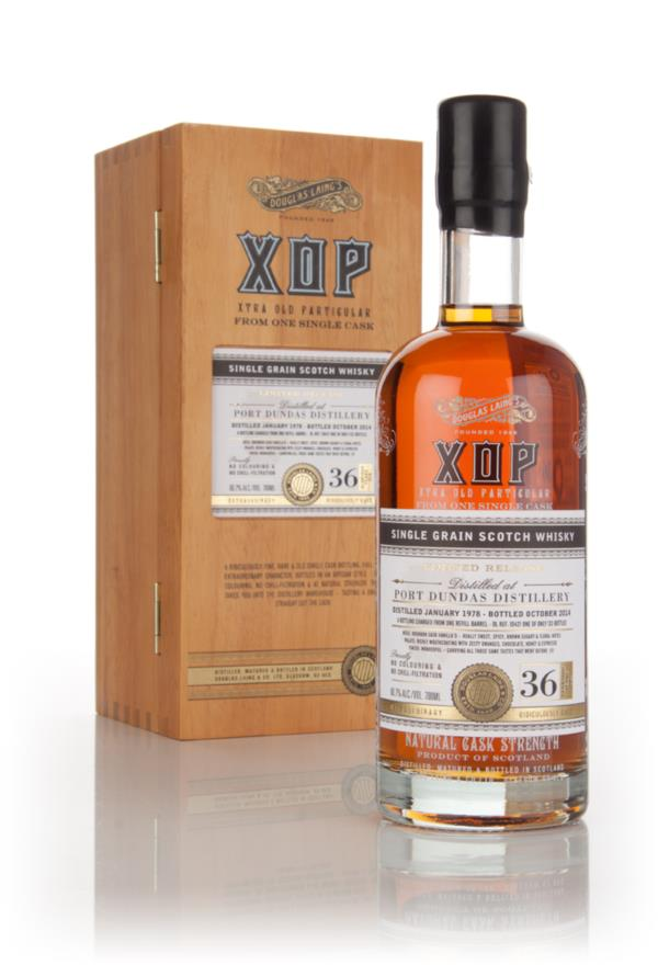 Port Dundas 36 Year Old 1978 (cask 10421) - Xtra Old Particular (Dougl Grain Whisky 3cl Sample