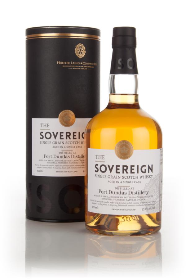 Port Dundas 40 Year Old 1974 (cask 11844) - The Sovereign (Hunter Lain Grain Whisky 3cl Sample