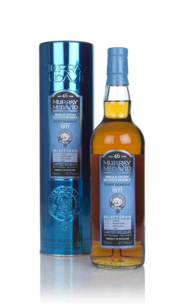 Port Dundas 46 Year Old 1971 (cask 14001) - Select Grain (Murray McDav Grain Whisky
